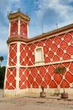 经典殖民地墨西哥建筑学 免版税图库摄影