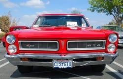 经典比德GTO肌肉汽车 免版税库存照片