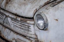 经典汽车正面图  库存图片