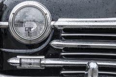 经典汽车背景 库存图片