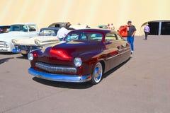 经典汽车:1950年福特水星 库存图片