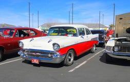经典汽车:1957年雪佛兰贝莱尔 免版税图库摄影