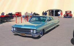 经典汽车:1962年Caddy Coupe de Ville 免版税图库摄影