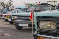 经典汽车活动, Maltepe, Ä°stanbul 库存照片