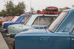经典汽车活动, Maltepe, Ä°stanbul 库存图片