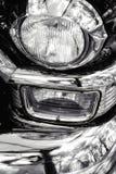 经典汽车细节,浅DOF 免版税库存图片