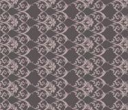 经典灰色葡萄酒装饰品样式 免版税库存照片