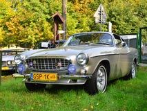 经典瑞典汽车富豪集团P1800 免版税库存图片