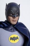 经典电视节目蝙蝠侠和罗宾热的玩具行动象征 库存照片
