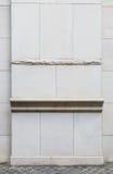 经典石圆柱基础细节 库存照片