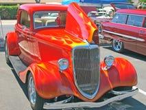 经典福特三窗口小轿车 库存图片