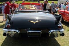 经典美国人tailfinned汽车 免版税图库摄影