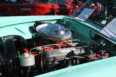 经典美国引擎 免版税库存照片
