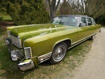 经典美国汽车,大陆的林肯 免版税图库摄影