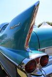 经典美国汽车细节 库存照片