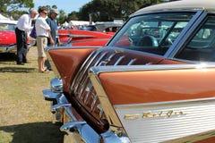 经典美国汽车细节 免版税库存照片