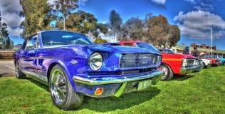 经典美国20世纪60年代Ford Mustang 免版税图库摄影
