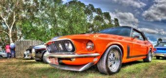经典美国Ford Mustang 免版税图库摄影