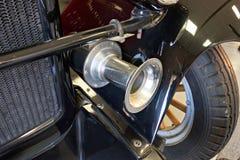 经典老卡车细节在博物馆 库存图片