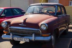 经典老苏联汽车 免版税库存照片