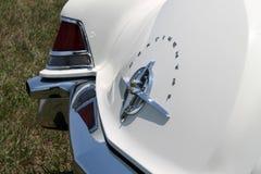经典豪华美国汽车后方细节 库存图片