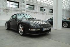 经典跑车,保时捷911 Carrera 4S 图库摄影