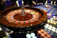 经典轮盘赌比赛 免版税库存照片