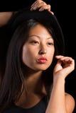 典雅的亚裔女孩 库存照片