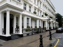 典雅的伦敦连栋房屋 库存图片