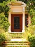 典雅的入口 免版税库存图片