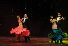 典雅的华尔兹这奥地利的世界舞蹈 图库摄影