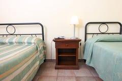 典雅的卧室 免版税库存图片