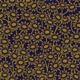 典雅的古色古香的背景406_garden雏菊花 图库摄影