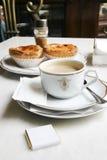 典雅的咖啡馆 免版税库存照片