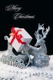 典雅的圣诞节背景 免版税库存图片