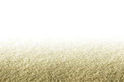 典雅的圣诞节金黄背景 库存照片