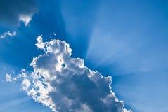 典雅的天空 库存照片