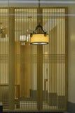 典雅的天花板照明设备 库存照片