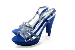 典雅的女性凉鞋 库存照片