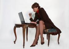 典雅的女性膝部顶层 免版税库存图片