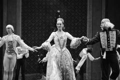 典雅的女王/王后这芭蕾胡桃钳 免版税图库摄影