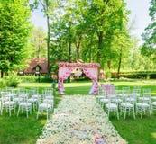 典雅的婚礼 库存图片