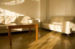 典雅的客厅 库存图片