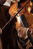 典雅的小提琴 库存图片