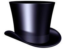 典雅的帽子顶层 免版税库存照片