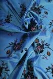 典雅的床罩 库存照片
