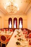 典雅的房间 免版税库存图片