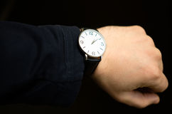 典雅的手表 库存图片
