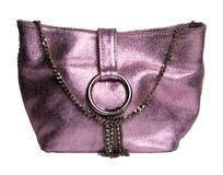 典雅的手袋粉红色 库存图片