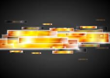 典雅的技术向量设计 免版税库存图片